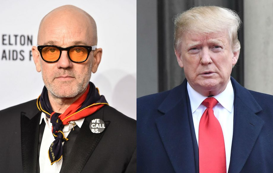 """R.E.M respond to Donald's Trump use of their track """"Everybody Hurts"""" in a meme"""