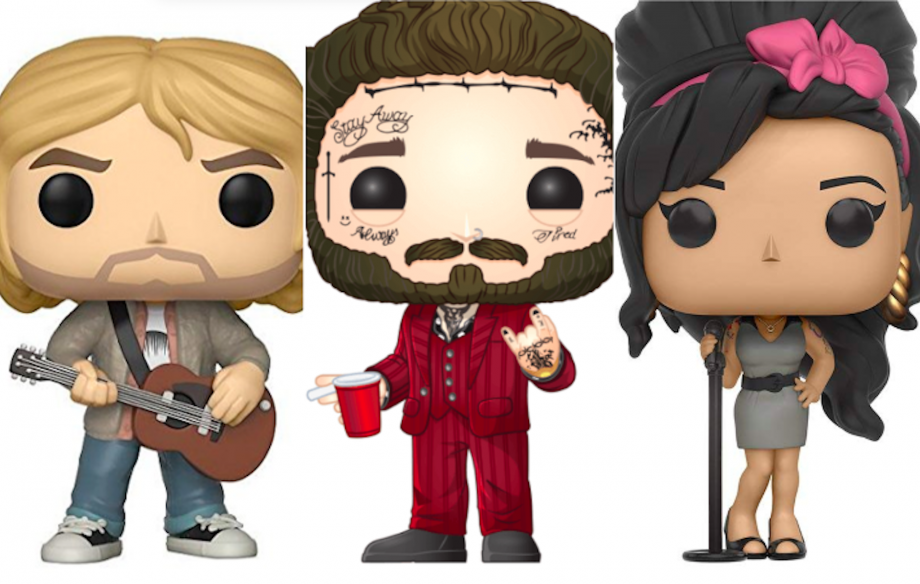Funko Pop! Vinyl – the best pop, hip hop and rock characters in the