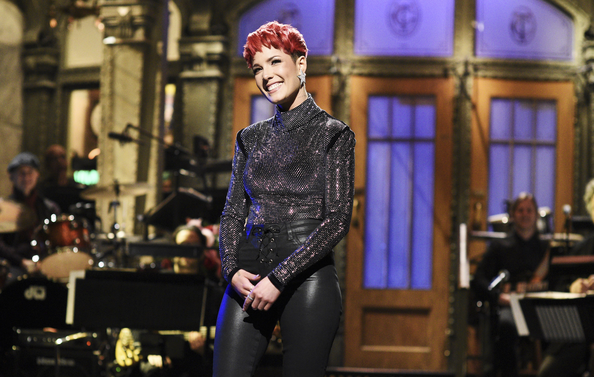 Watch Halsey Host Perform And Act On Saturday Night Live
