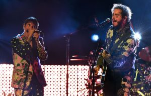 Watch Post Malone perform with