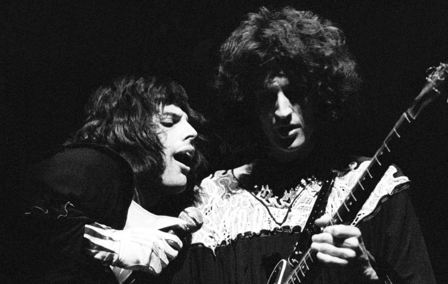 Brian May donated his classic Queen outfits to the filming