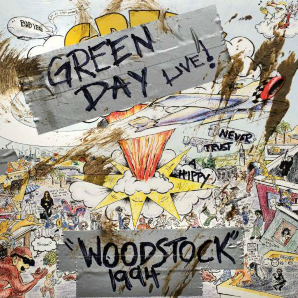 the best attitude e8c66 72379 Green Day – Woodstock 1994 – Record Store Day 2019