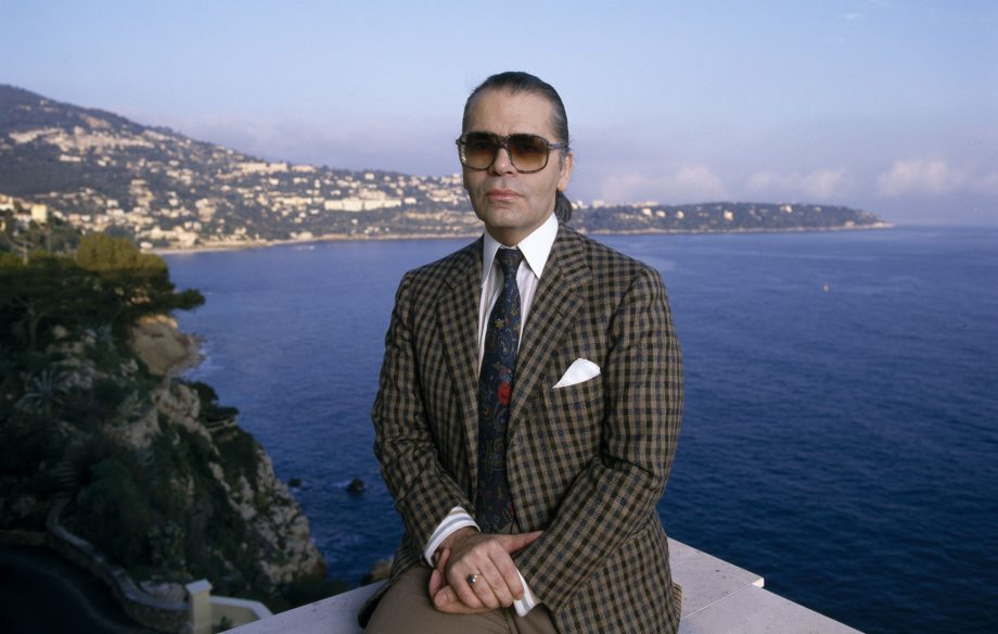 be9f2dbfc Turns out Karl Lagerfeld was an indie kid all along