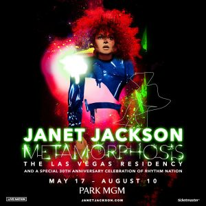 JANET JACKSON: METAMORFOSIS EN LAS VEGAS
