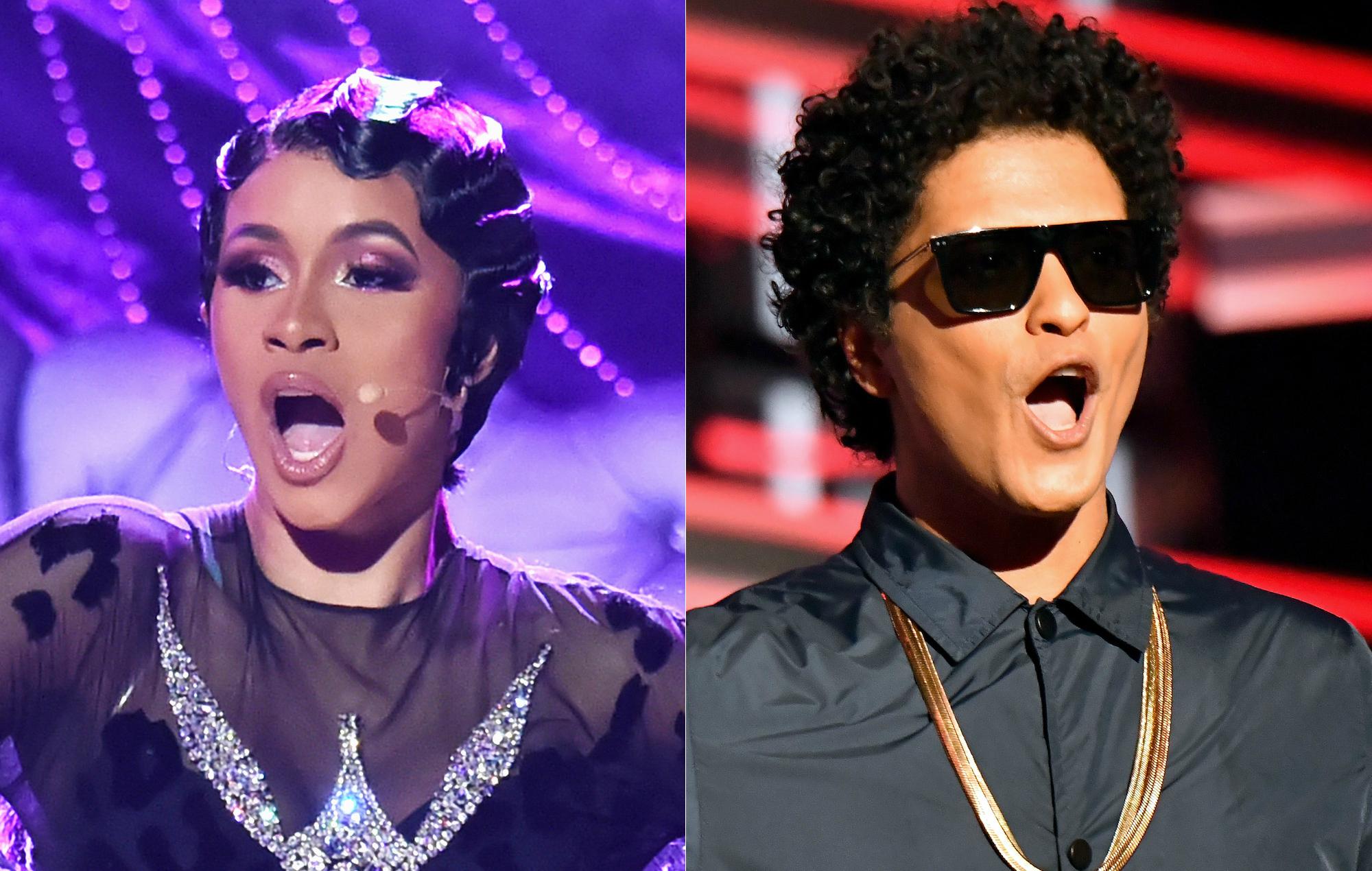 Cardi B flips the slow jam script on new Bruno Mars collab
