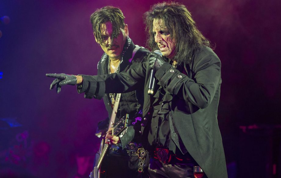 "Alice Cooper: ""Almost everything I read about Johnny Depp was absolutely untrue"""