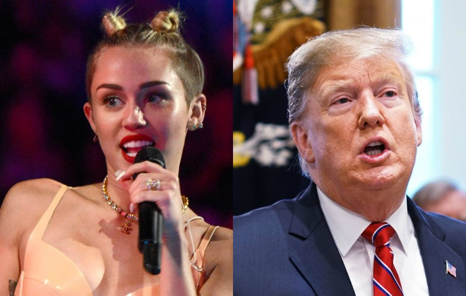 Miley Cyrus says Donald Trump called her to congratulate her on VMAs twerking performance