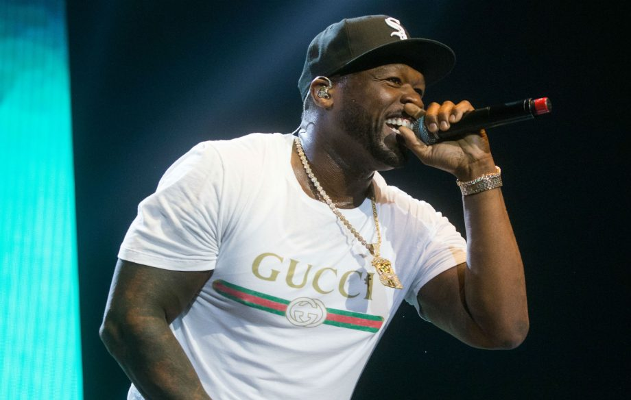 b9faa2ea 50 Cent burns Gucci t-shirt in protest following 'blackface' controversy