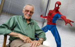 Stan Lee second spider verse cameo