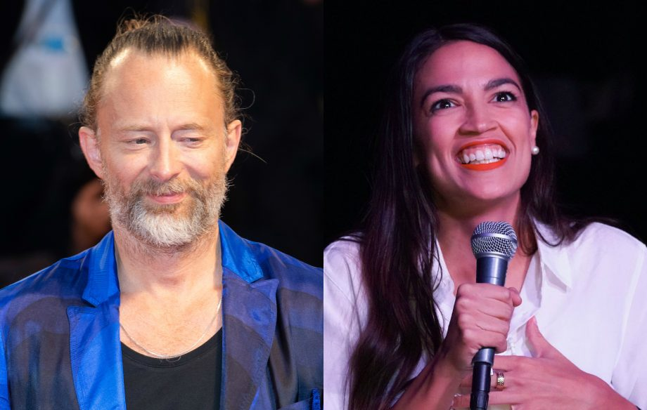 Thom Yorke appears to back US Congresswoman Alexandria Ocasio-Cortez's Green New Deal