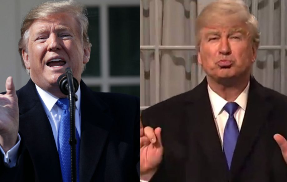 "Donald Trump threatens ""retribution"" against SNL after latest Alec Baldwin parody"