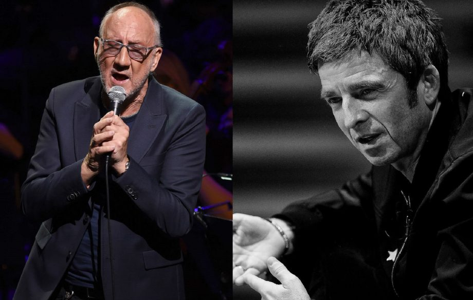 The Who's Pete Townshend reckons Noel Gallagher is working with producer Dave Sardy again