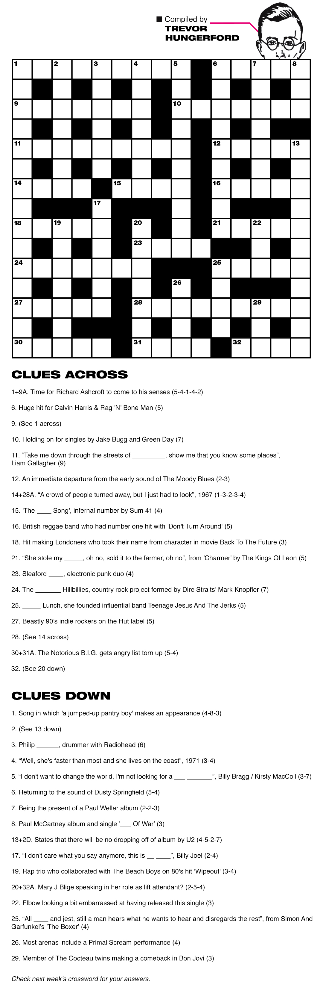 NME crossword