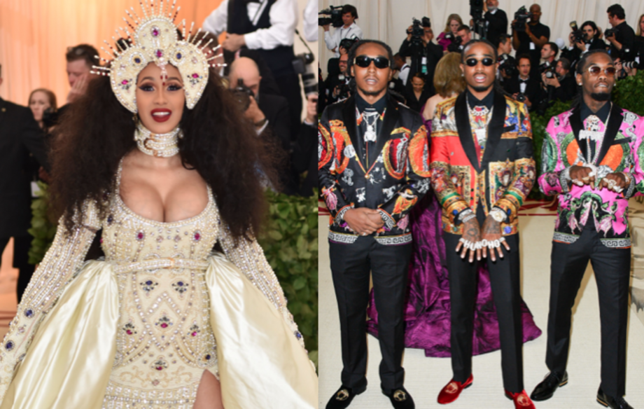 Cardi B, Migos and their security will not face charges over Met Gala attack
