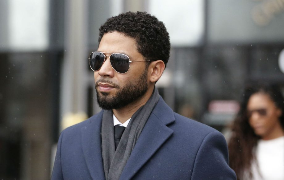 New police footage shows Jussie Smollett with noose around his neck after controversial attack