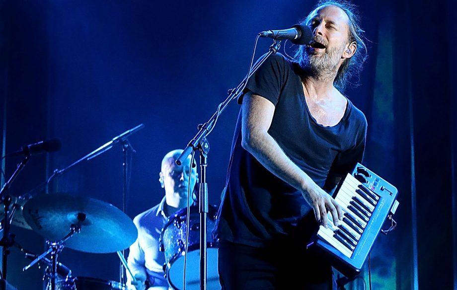 Philip Selway y Thom Yorke de Radiohead