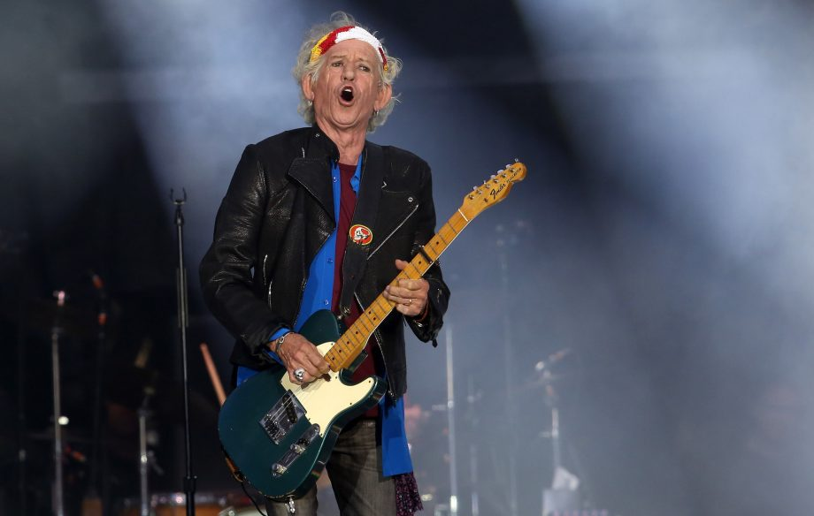 Watch Keith Richards' video for previously unreleased track