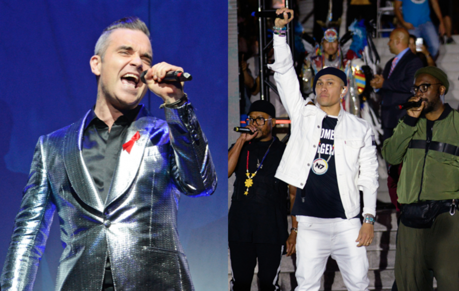 Black Eyed Peas, Keane and more to join Robbie Williams for British Summer Time show