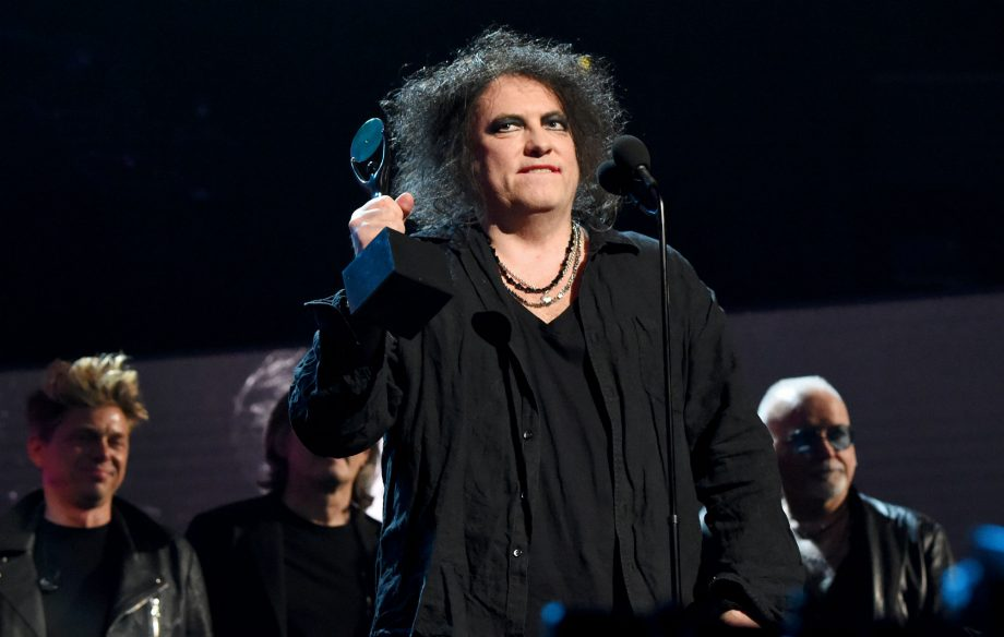 Watch The Cure Perform After Their Induction To The Rock