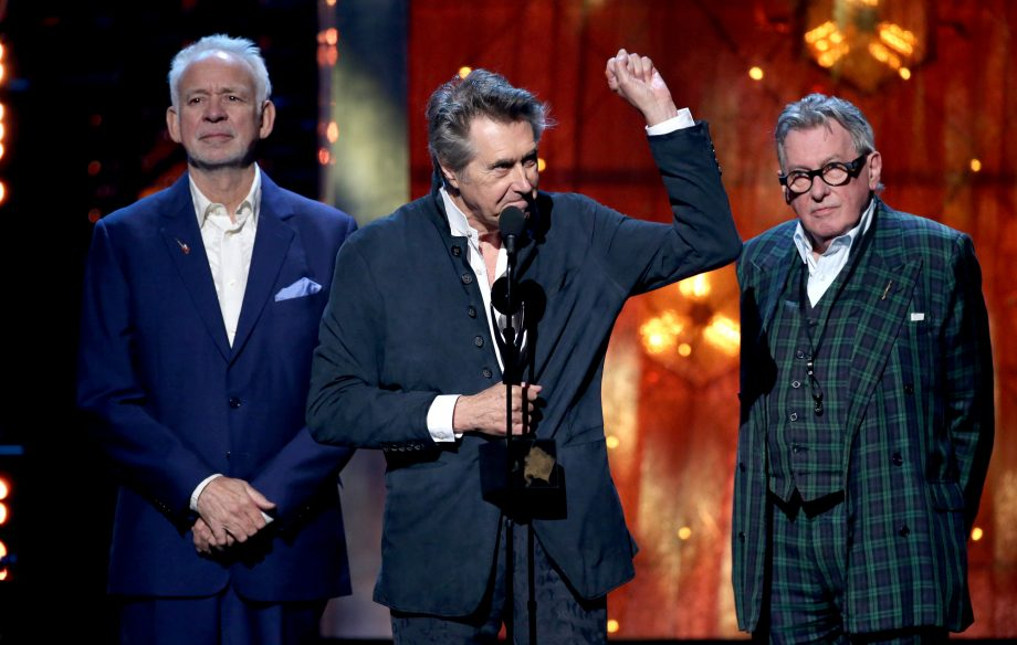 Watch Bryan Ferry reunite with Roxy Music at their Rock & Roll Hall of Fame induction