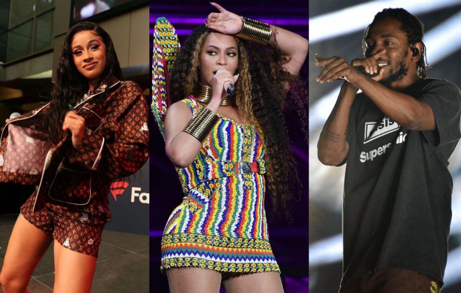 Here's what Beyoncé, Cardi B, Kendrick Lamar and more look like as