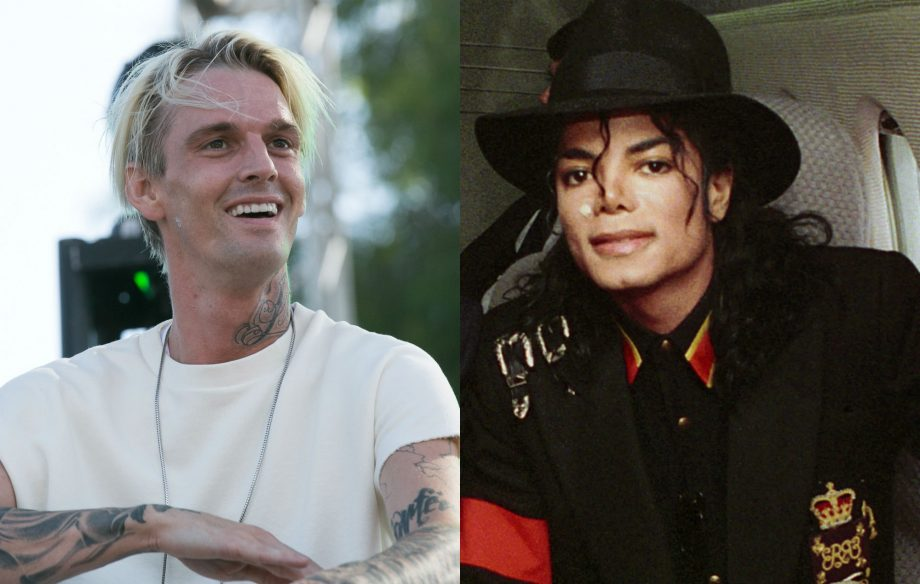 Aaron Carter hits out at accusers of Michael Jackson from 'Leaving Neverland'