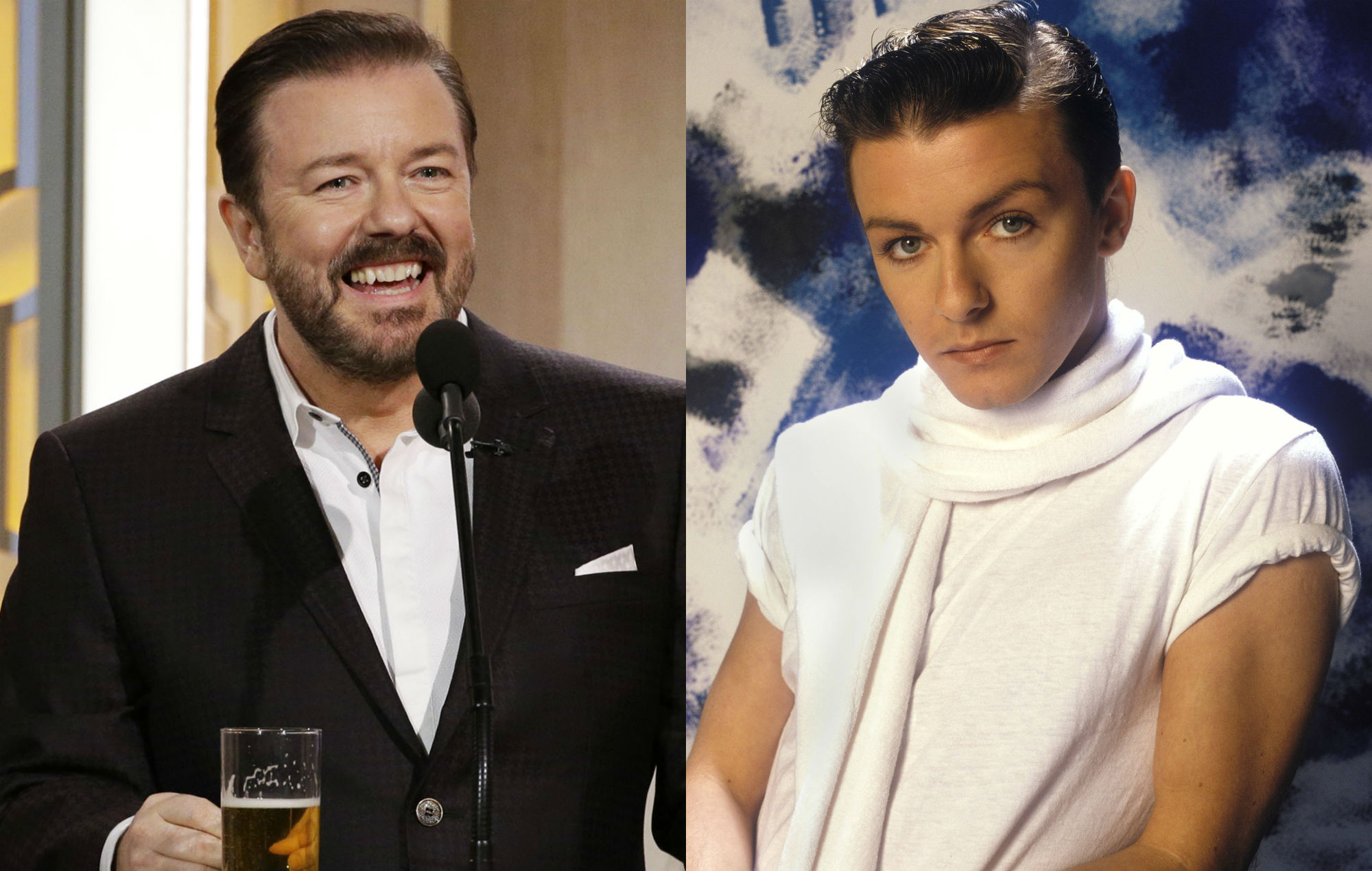 Ricky Gervais on giving up on his rockstar dreams - NME