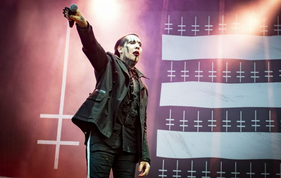 Marilyn Manson gives an exciting update about his new album