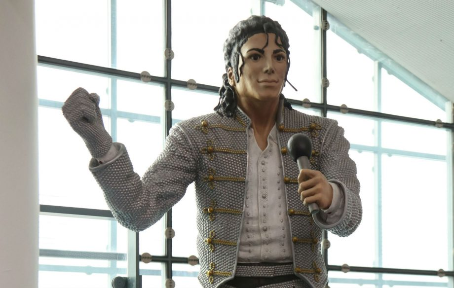 Image result for museum removes michael jackson statue news