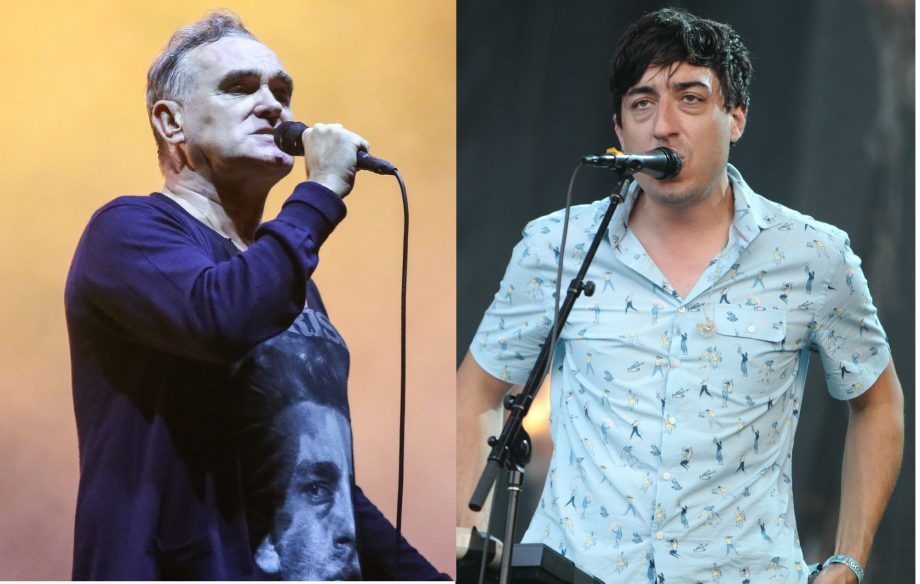 Listen to Morrissey and Ed Droste cover Jobriath's 'Morning Starship'