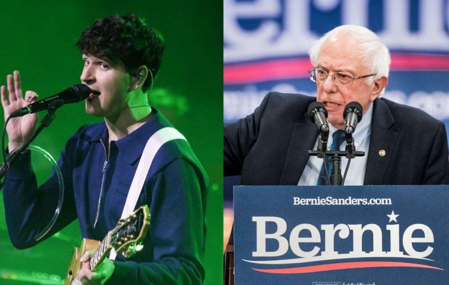 """""""If we can help out, sure"""": Vampire Weekend back Bernie Sanders in 2020 US presidential bid"""