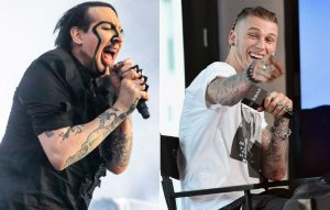 Marilyn Manson and Machine Gun Kelly