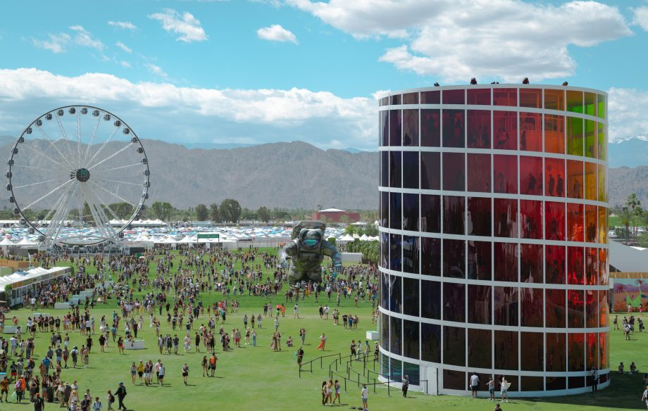 Fire breaks out at Coachella campground