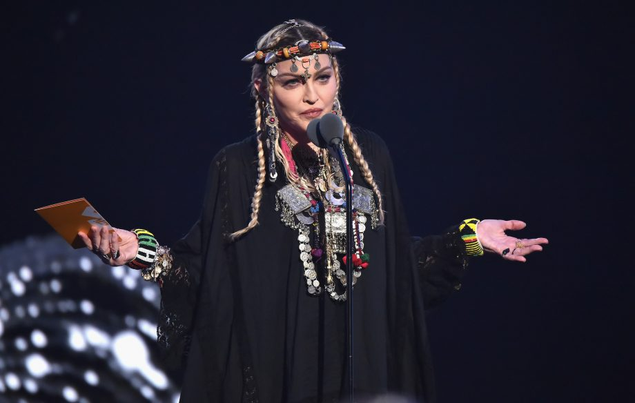 "Madonna says new album 'Madame X' sees her going ""back to her roots"" and giving ""zero you-know-whats"""