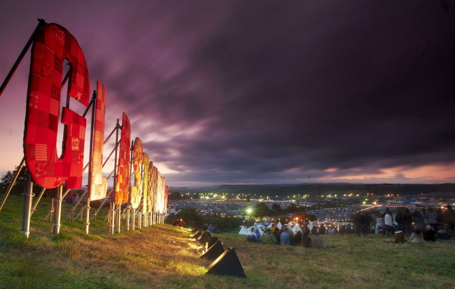 Homes to be built from stone taken from the Glastonbury Festival site