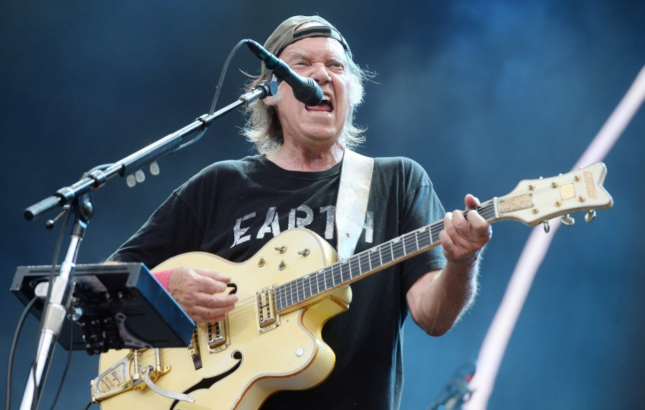 Keep On Rockin': Watch Neil Young defy curfew to finish gig after the plug is pulled