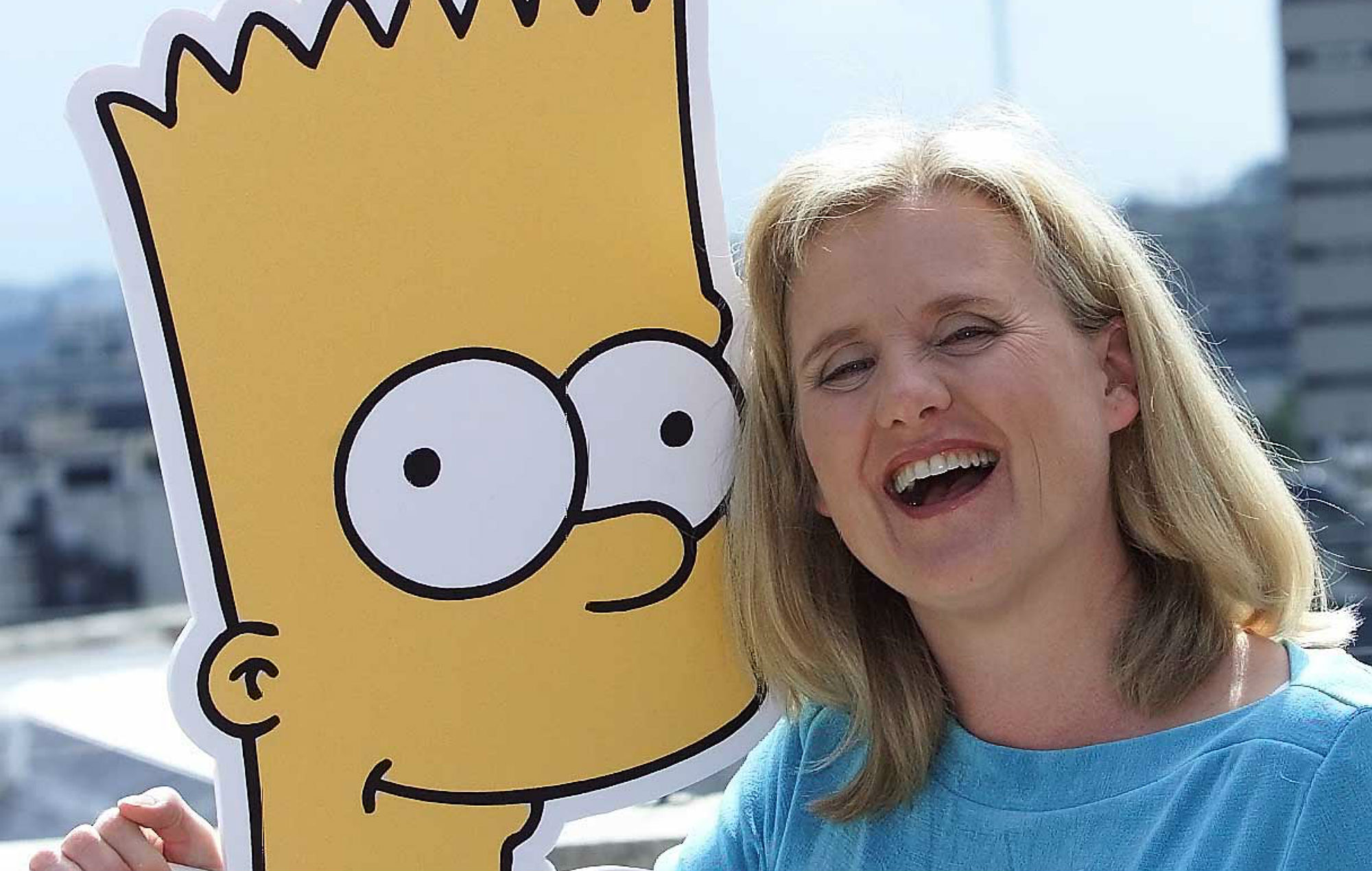 Nancy Cartwright, the voice of Bart, has finally scripted an