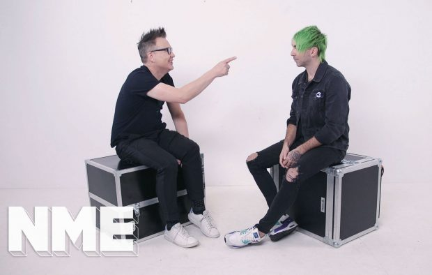 Band Vs Band: watch Blink's Mark Hoppus and All Time Low's Alex Gaskarth – collectively Simple Creatures – go head-to-head on camera