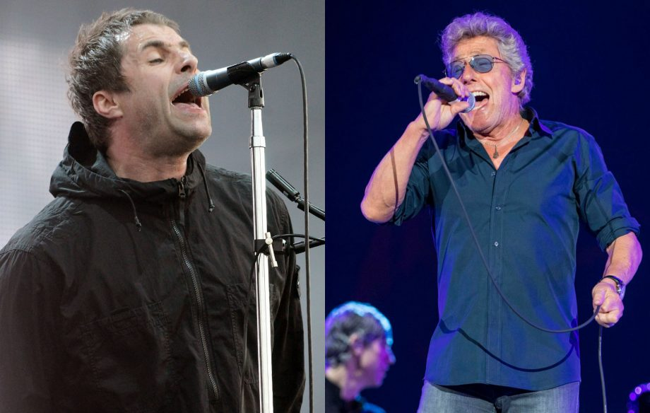 Liam Gallagher reveals he will be supporting The Who on tour in October