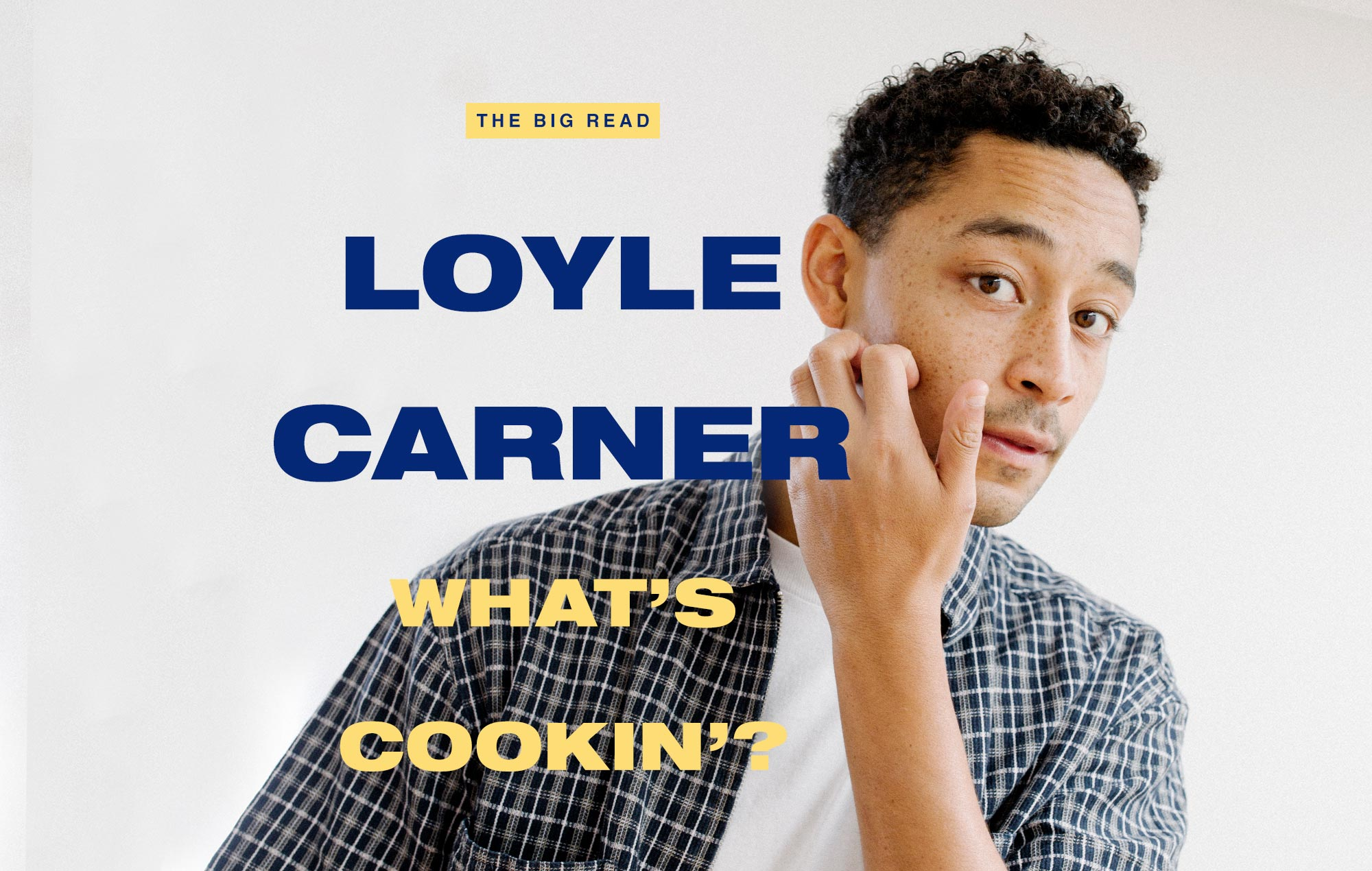 LOYLE CARNER NME Interview