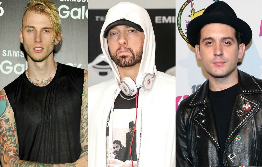 Machine Gun Kelly and G-Eazy call truce after Eminem