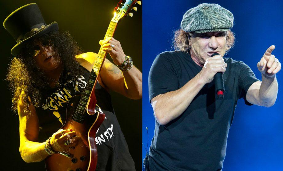 """Where do I start?"" Guns N' Roses' Slash responds to reports of a new AC/DC album"