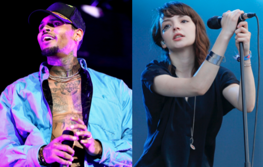 Chris Brown fires back at Chvrches following comments they