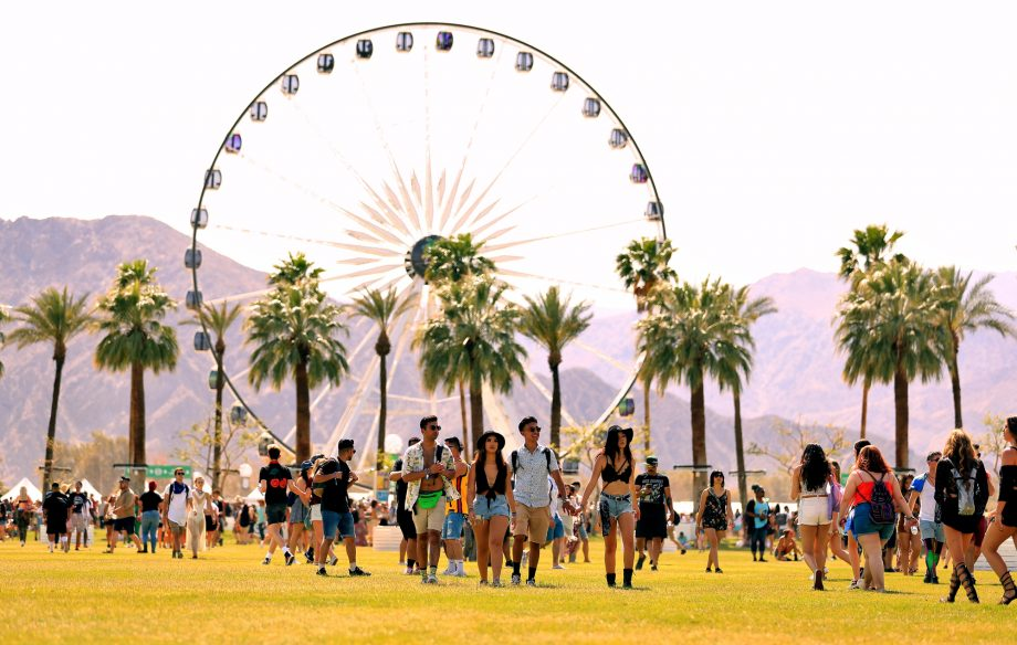 A Coachella stagehand has died setting up this year's festival