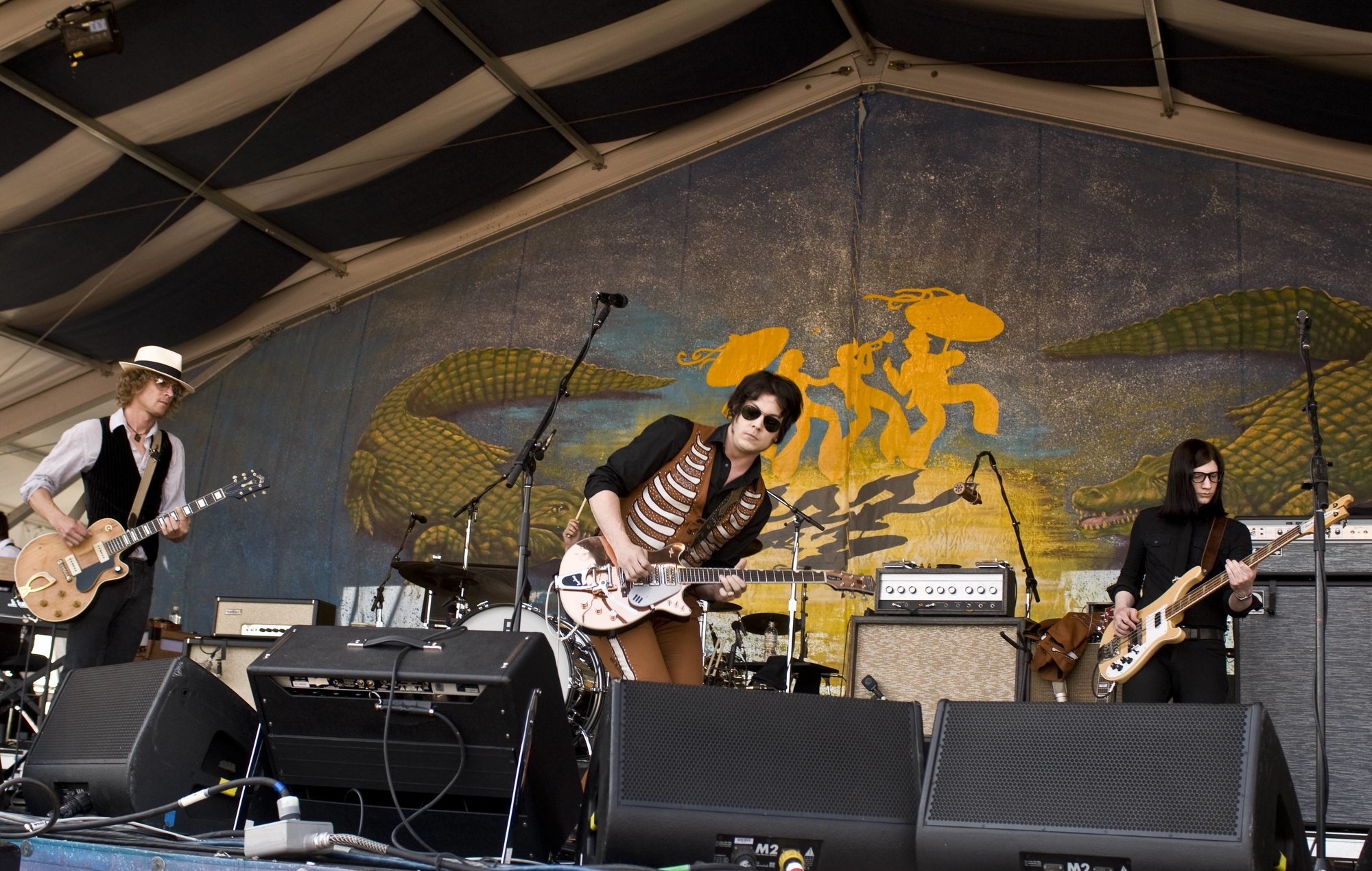 Watch The Raconteurs Live Comeback Their First