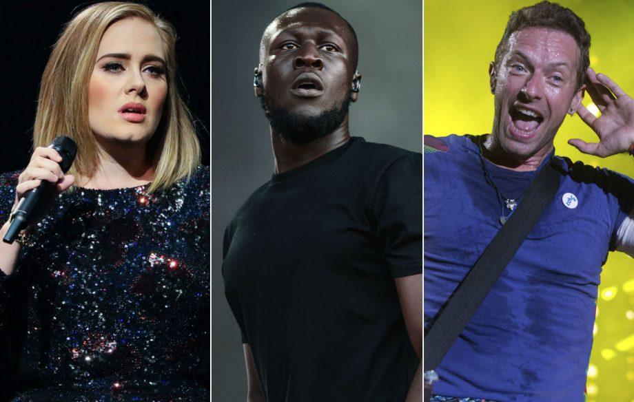 Stormzy seeks advice from Adele and Coldplay ahead of Glastonbury headline slot