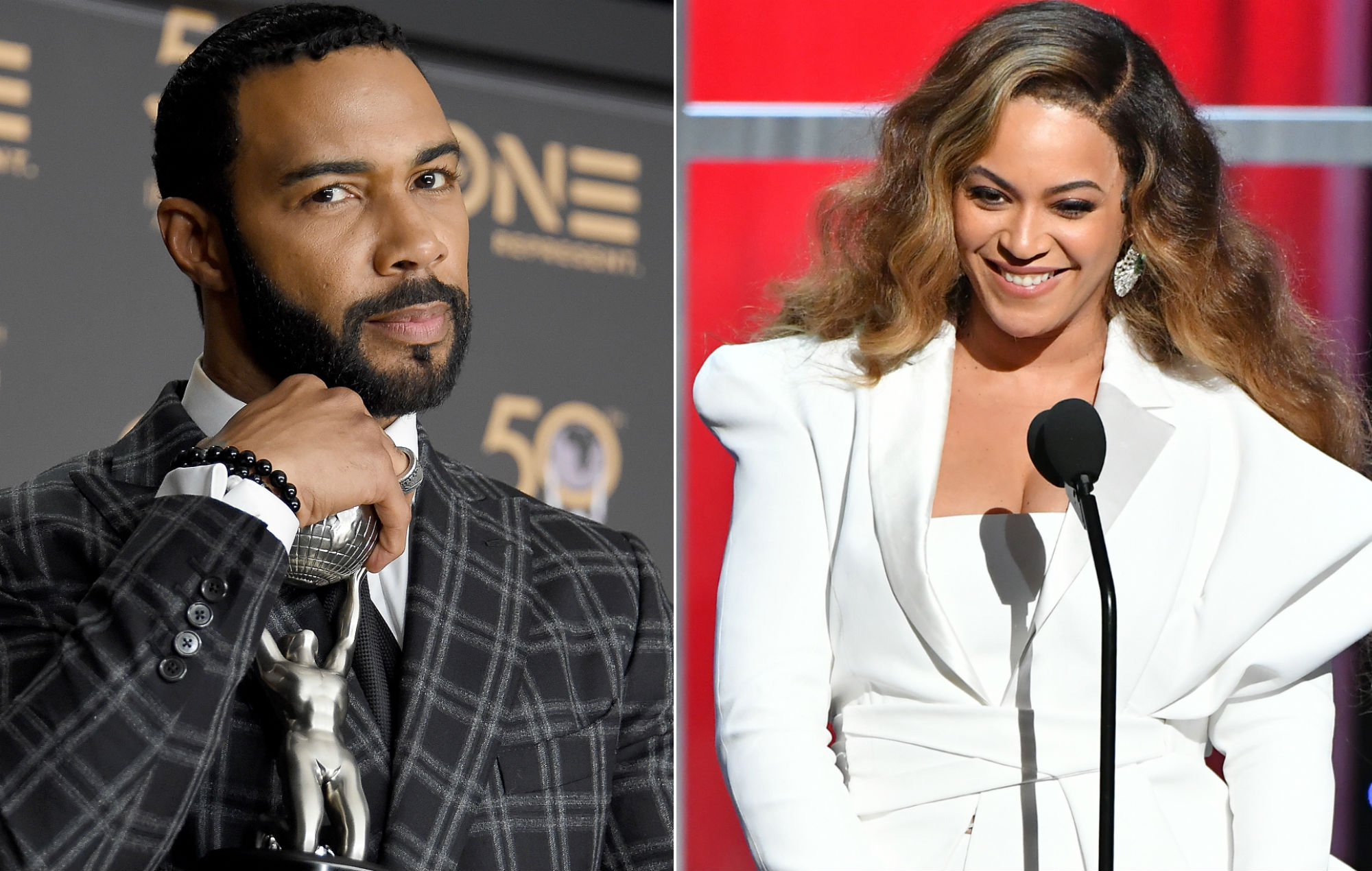 Omari Hardwick Splits Opinion After Quot Awkward Quot Kiss With