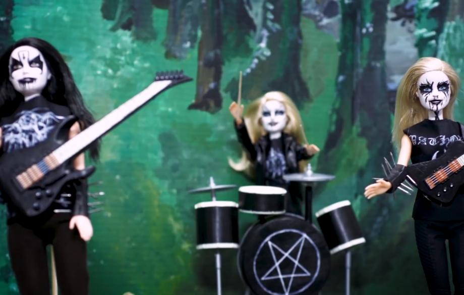 Watch this brilliant 'Black Metal Barbie' spoof advert