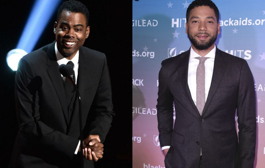 """""""No respect from me!"""": Chris Rock makes brutal joke about Jussie Smollett"""
