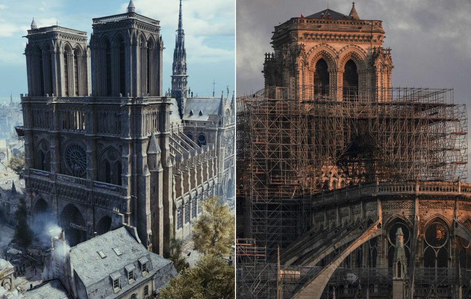'Assassin's Creed' could be used to help rebuild Notre Dame cathedral